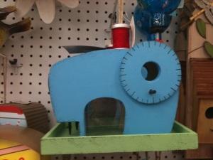 Sewing Machine Birdhouse