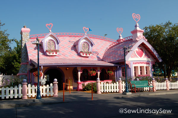 Minnie Mouse's House in Toontown