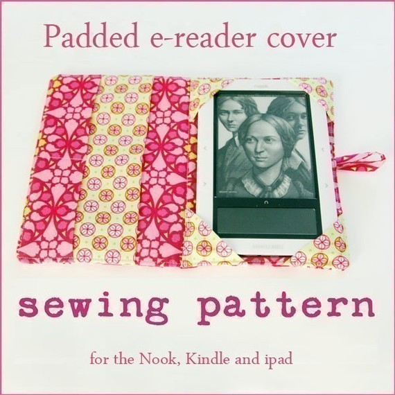 E-reader Nook Kindle iPad Cover Pattern