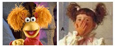 Fraggle Rock Red Pigtails