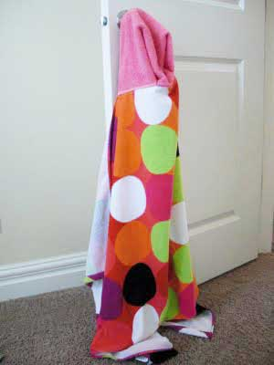 Hooded Towel Sewing Project