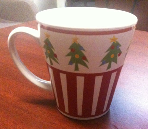 Christmas Mug in June