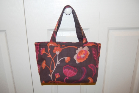 World Market placemat purse