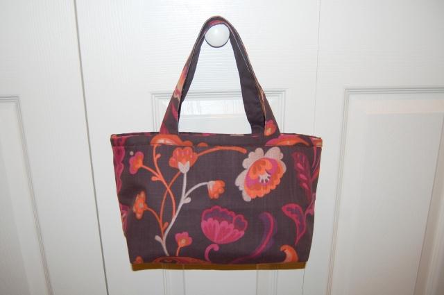 World Market placemat purse