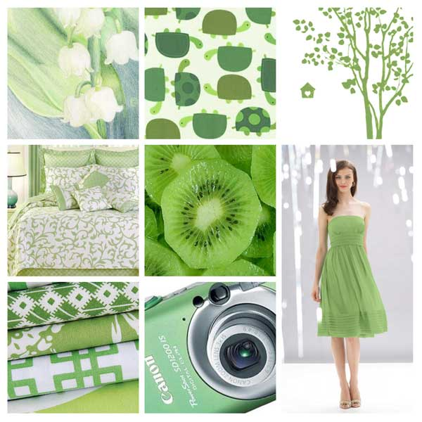 Green Inspiration Board