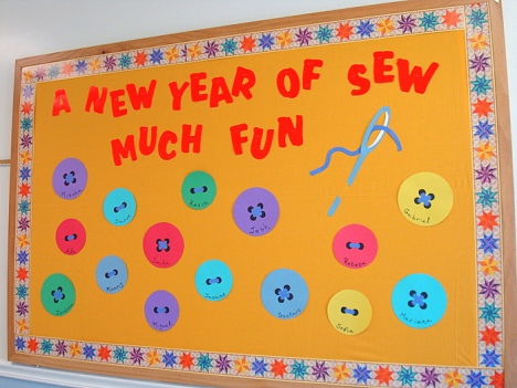 Sewing Bulletin Board