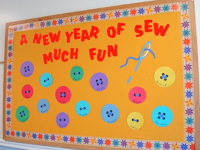 Sewing Bulletin Board