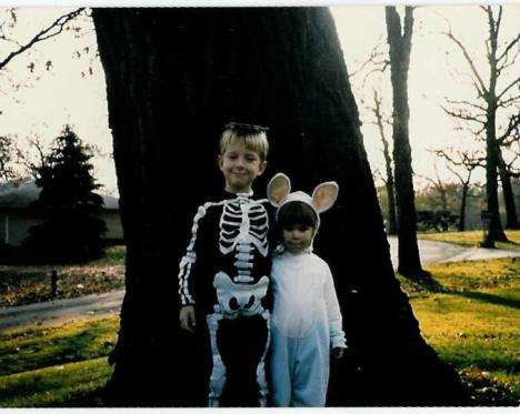Bunny & Skeleton Costumes