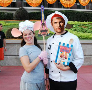 Remy & Linguine Ratatouille costumes