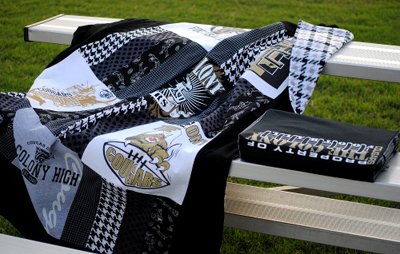 Free stadium blanket and bleacher cushion sewing tutorial