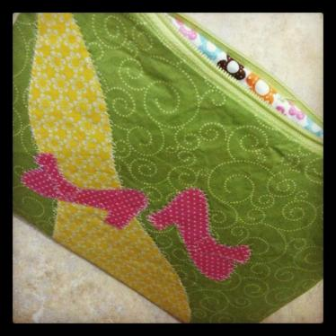 WIzard of Oz inspired zipper pouch