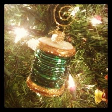 Spool of Thread Ornament
