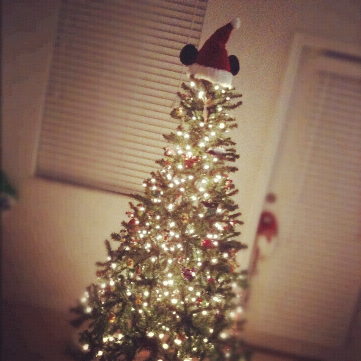 christmas tree - Mickey Mouse Christmas Tree Topper