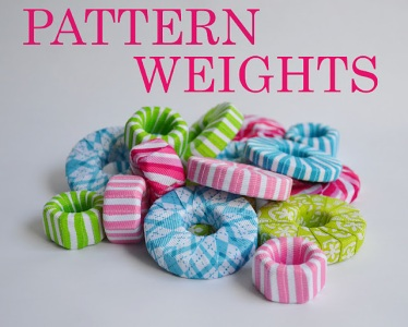 Pattern Weights from bolts and washers