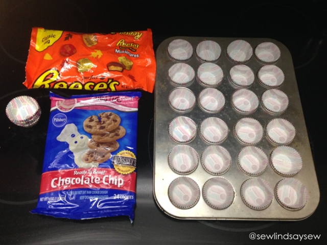 Peanut Butter Cup Cookies - Ingredients
