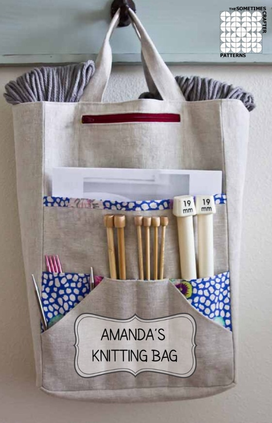 Amanda's Knitting Bag by The Sometimes Crafter