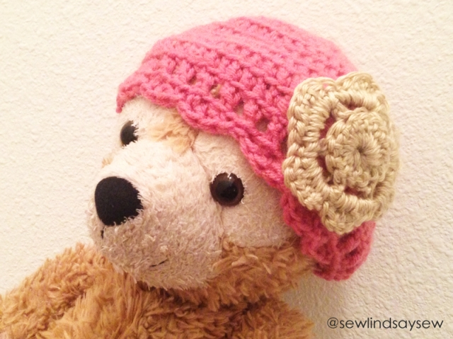 Duffy the Disney Bear Crochet Cap