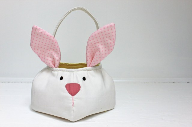 Easter bunny Basket - Free Tutorial
