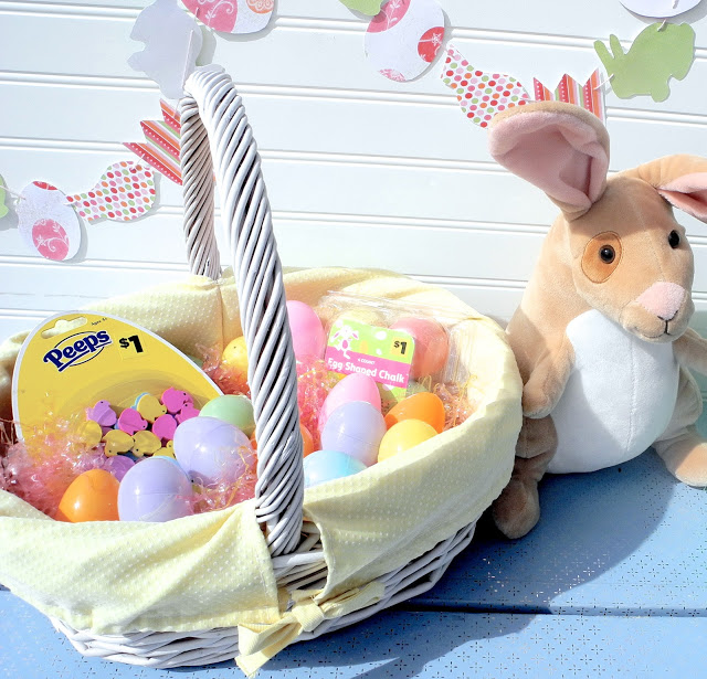 Free easter basket liner tutorial