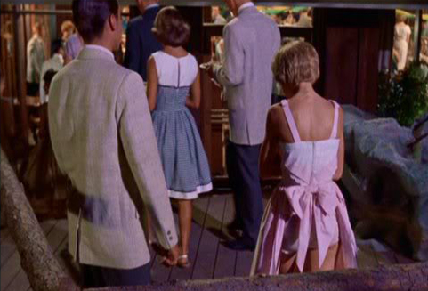 Parent Trap Dress Scene