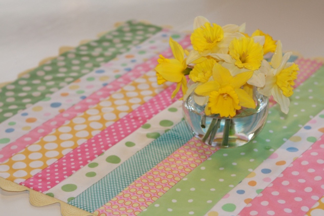 Free Easter Table Runner Tutorial