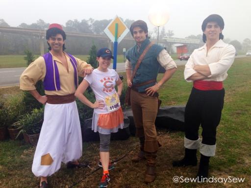 Aladdin, Flynn Rider and Prince Eric