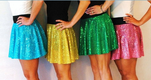 Here's what sparkle skirts are SUPPOSED to look like... (Photo credit: SparkleSkirts.com)