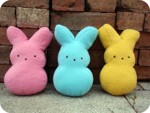 Marshmallow Bunny Plushies