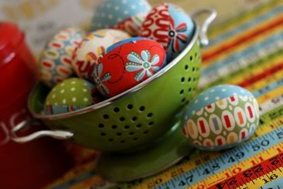 Fabric Easter Eggs - free sewing tutorial