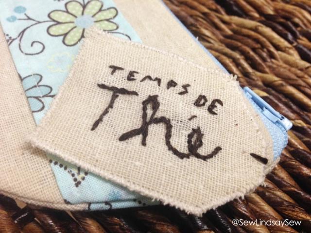 Teacup Zipper Pouch - temps de the