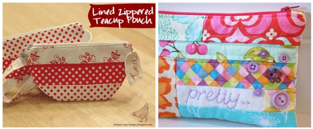 Zipper Pouch Tutorials