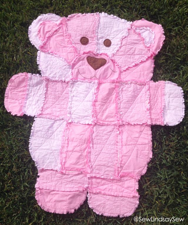 Simplicity 4993 Teddy Bear Quilt
