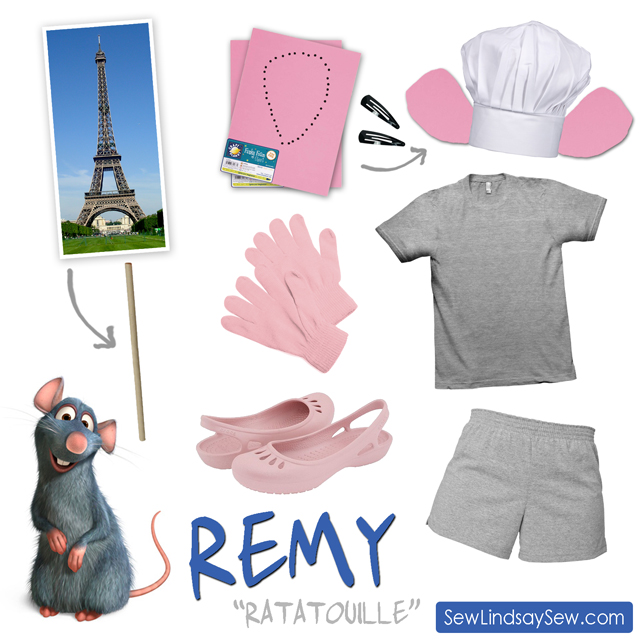 Diy Halloween Costume Remy From Ratatouille Sew Lindsay Sew