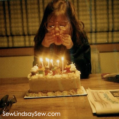 My 10th birthday... I always had a cake from Baskin Robbins.