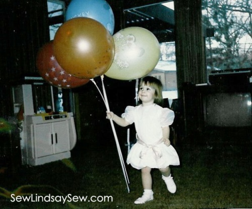 BALLOON HEAVEN on my second or third birthday.