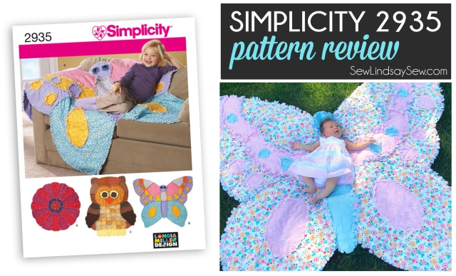 Simplicity 2935 Rag Quilt - Pattern Review